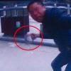 广西桂林一男子闯红灯被拦 拿铁锁猛砸协警头部